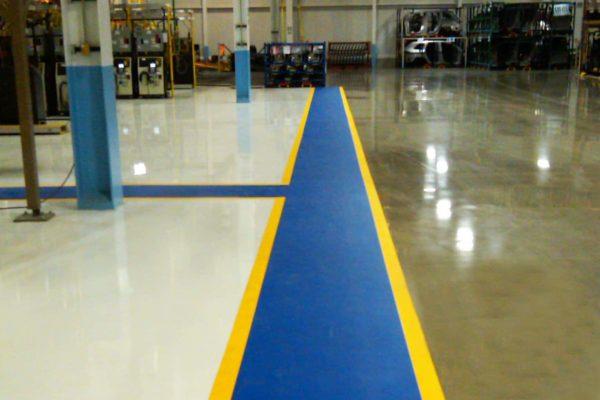 Looppaden vloermarkeringstape markeringstape vloer en magazijn