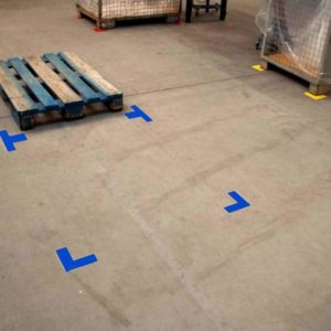 Durastripe X-TREME vormen: X-Hoeken (afgerond)
