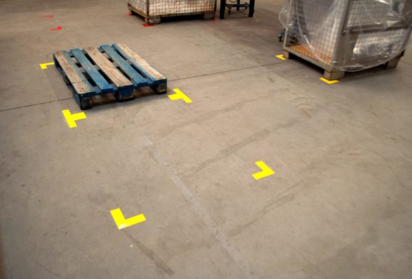 Durastripe Mean Lean Vormen: L-Hoek (rechthoekig)