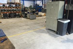Goede betonnen vloer
