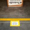 Vloervenster documenthouder insteekhoes A5 geel