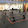 Vloertape voor sportscholen Vakken op 1,5 meter afstand houden