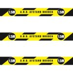 Corona Vloerstickers voor intensief gebruik (sportschool)
