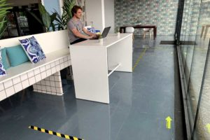 Corona kantoor inrichting werkplek