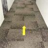 vloersticker tapijt Vloerstickers pijlen corona stickers