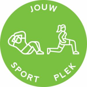 afstand sticker sport plek zone sportschool