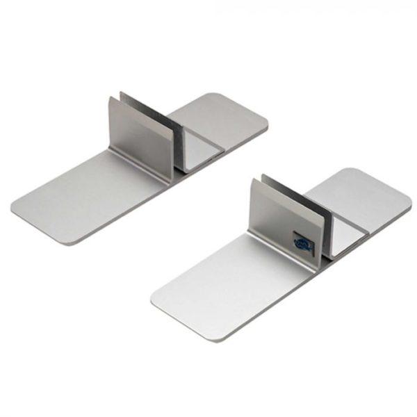 Metalen standaard voor kuchscherm
