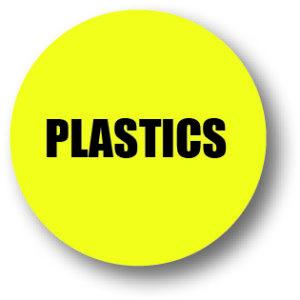 5S Plastic bord