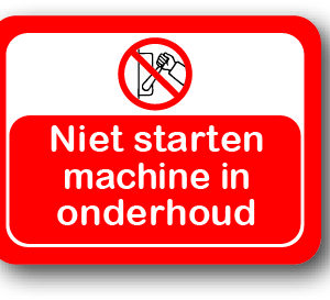Onderhoud - niet starten bord