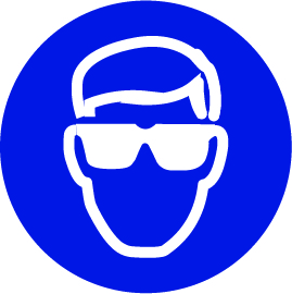 Veiligheidsbril bord