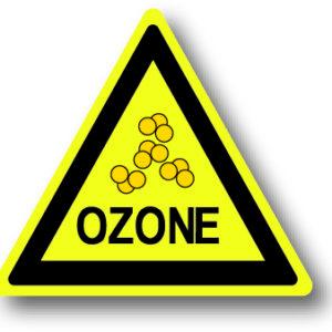 Ozone waarschuwingsbord